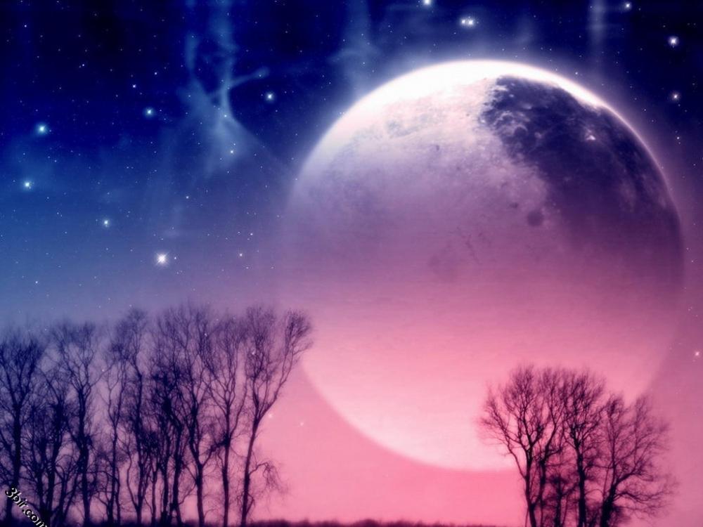 ضوء القمر - صور طبيعة