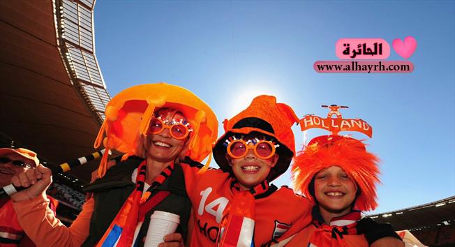 كأس العالم 2010 : هولندا تفوز على الدنمارك 2 – 0 - صور غريبة