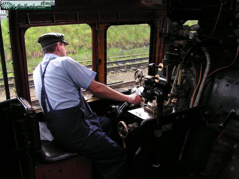 القطارات البخاريه - صور غريبة