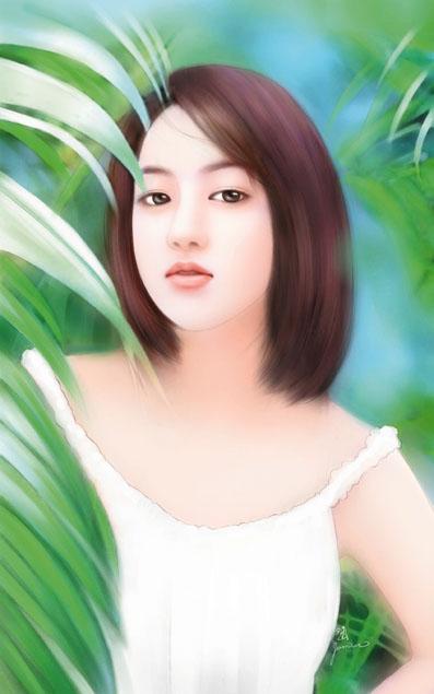 صور انمى كانها حقيقه رسمها رسام صيني