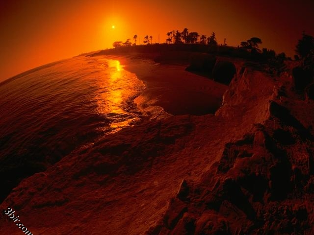 صور الغروب - صور غروب الشمس - صور جميلة