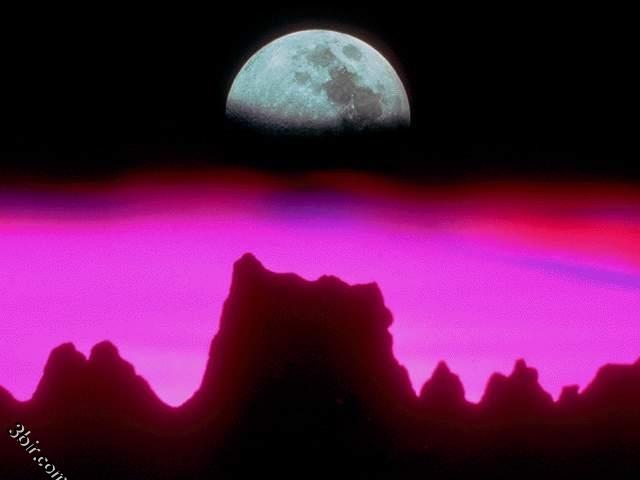 صور القمر - صور طبيعة