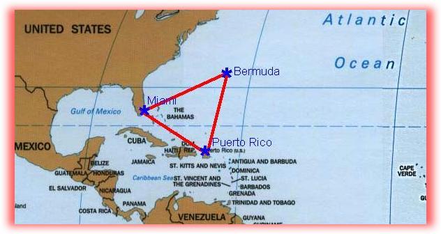 جزر برمودا ومثلث الرعب
