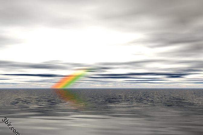 صور قوس قزح ثلاثية الابعاد رائعه جدا خيالية