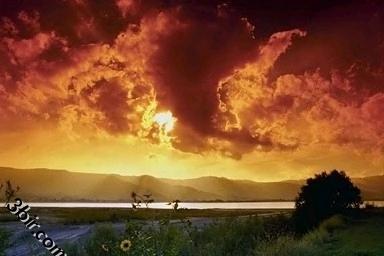 من اجمل صور شروق وغروب الشمس باماكن مختلفة مكتبة كبيره من الصور الجزء الثاني