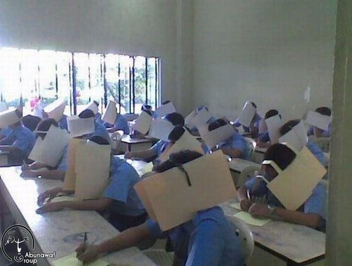 طريقة جديدة لمنع الغش في الامتحان