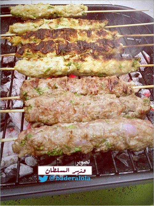 إفطار أول العشر بنكهة الباربكيو ...barbecue (مشويات وزير السلطان)