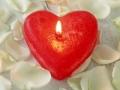 صور قلب وشموع