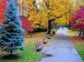 الخريف في سويسرا