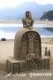 فن النحت على الرمال لوحات ابداعيه